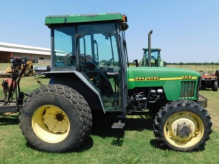 1998 John Deere 5510 MFW utility tractor
