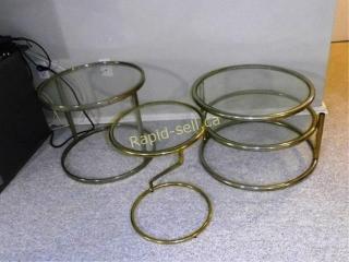 Metal & Glass Tables