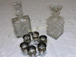 Decanters & Shot Glasses