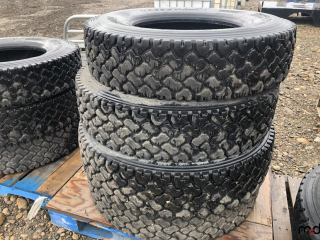 Tire 11R22.5- Bid Price is Per Tire -  Must Take 4 Times the Money UNRESERVED