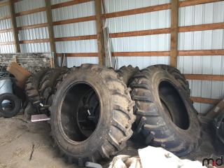 UNUSED 20.8x38 Tractor Tires w/ Tubes- Bid Price is Per Tire -Must Take 4 Times the Money  OFFSITE