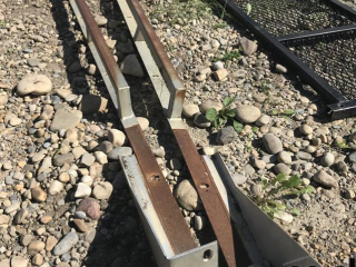 Steel Box Rails for 8' Box UNRESERVED