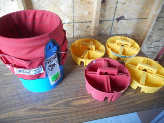 Bucket Boss with Parts Trays