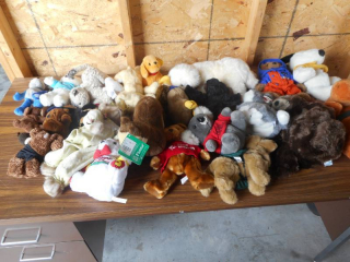 20 Premium Stuffed Animals