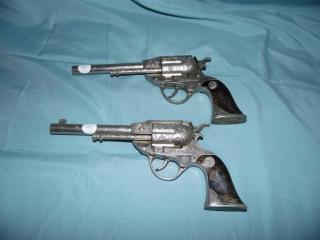 Pair of Actoy Restless Gun .38 2 Toy Cap Gun Guns