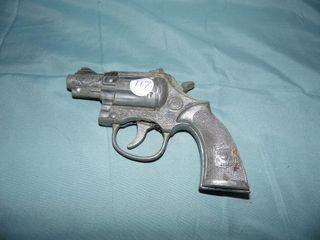 VINTAGE BULLDOG CAP GUN PISTOL