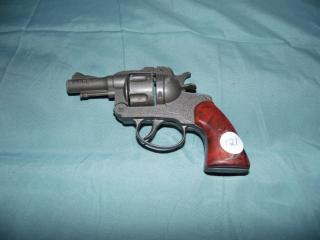 VINTAGE CRESCENT TOYS SECRET AGENT CAP GUN PISTOL