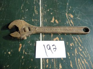"""CRESCENT 15"""" ADJUSTABLE WRENCH"""