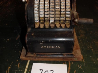ANTIQUE AMERICAN CHECK WRITER PROTECTOR