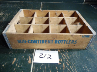 NEAT OLD WOODEN POP CRATE CASE