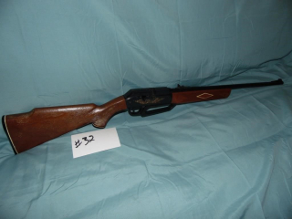 VINTAGE POWERLINE .22 CAL BB PELLET GUN RIFLE