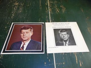1963 JFK TRIBUTE RECORD ALBUMS