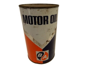B/A (BLUE/ORANGE) MOTOR OIL IMP. QT. CAN