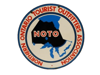 NORTHERN ONTARIO TOURIST OUTFITTERS ASS. D/S SIGN