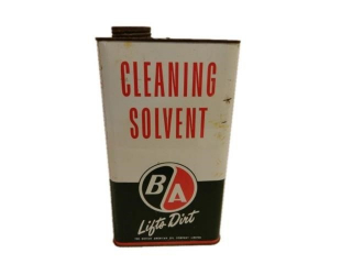 B/A(GREEN/RED) CLEANING SOLVENT IMP. GAL. CAN