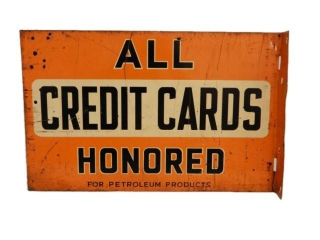 ALL CREDIT CARDS HONORED HERE FOR PETROL FLANGE