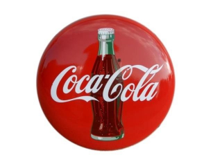 "COCA-COLA SSP 24"" BUTTON"