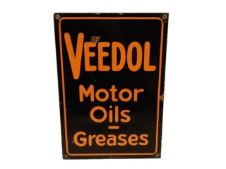 VEEDOL MOTOR OILS GREASES SSP SIGN