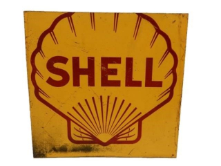 "SHELL ""CLAMSHELL"" SST SIGN"