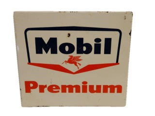 MOBIL PREMIUM PEGASUS SSP RACK TOP SIGN
