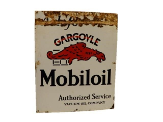 MOBILOIL GARGOYLE AUTHORIZED SERVICE SSP SIGN