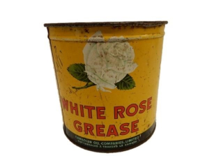 WHITE ROSE GREASE 5 LBS. CAN / NO LID