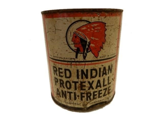RED INDIAN PROTEXALL ANTI-FREEZE IMP. GAL. CAN