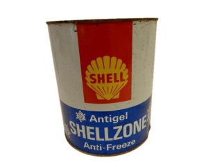 SHELL CANADA  SHELLZONE ANTI-FREEZE  GAL. CAN