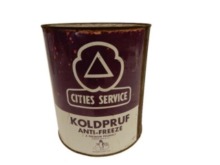 CITIES SERVICE KOLDPRUF ANTI-FREEZE IMP. QT. CAN