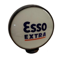 ESSO EXTRA GAS PUMP GLOBE - ONLY ONE LENSE