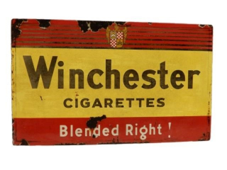 WINCHESTER CIGARETTES BLENDED RIGHT! SSP SIGN