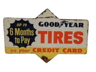 GOODYEAR TIRES ON YOUR CREDIT CARD SST  SIGN