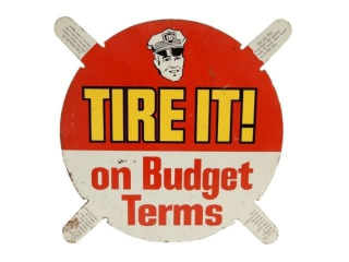 RARE BP TIRE IT! ON BUDGET TERMS SST TIRE INSERT