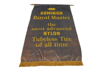 DOMINION ROYAL MASTER TIRE S/S SILK BANNER