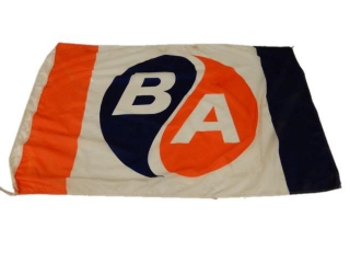 B/A (BLUE/ORANGE) D/S NYLON FLAG