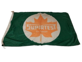 SUPERTEST ALL CANADIAN  D/S NYLON FLAG