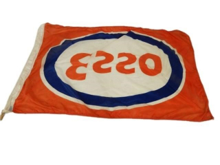 ESSO OIL S/S NYLON FLAG