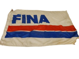 FINA S/S NYLON FLAG