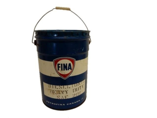 FINA DIESEL TONIC HEAVY DUTY 5 IMPERIAL GAL. CAN