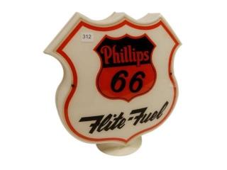 PHILLIPS 66 FLITE FUEL GAS PUMP GLOBE