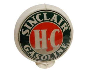 SINCLAIR HC GASOLINE GAS PUMP GLOBE