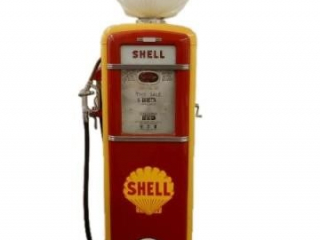 GILBERT & BARKER CALCO-METER GAS PUMP