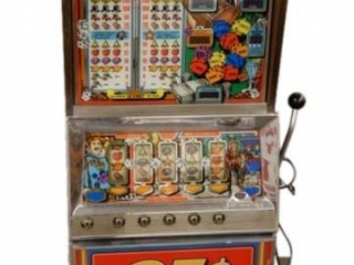 LUCKY DICE 25 CENT SLOT MACHINE / KEY
