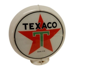 CANADIAN TEXACO GASOLINE GAS PUMP GLOBE