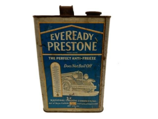 EVEREADY PRESTONE ANTI-FREEZE U.S. GAL. NET CAN