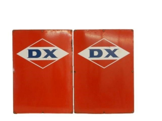 2 DX OIL SMALL GAS PUMP DOORS