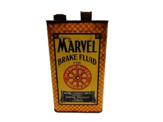 MARVEL BRAKE FLUID FOR HYDRAULIC IMP. GAL. CAN