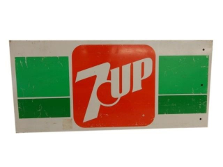 7UP SST RACK TOP SIGN