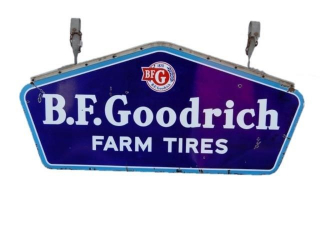 B.F.GOODRICH FARM TIRES DSP SIGN / HANGERS