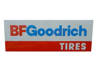 BF GOODRICH TIRES EMBOSSED SST SIGN
